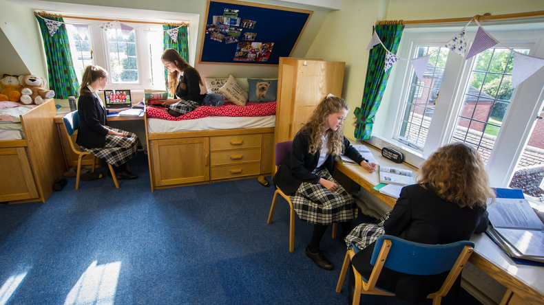 Girls in their room