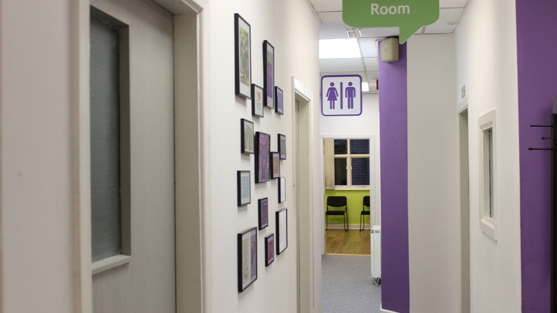 The Essential English Centre hallway