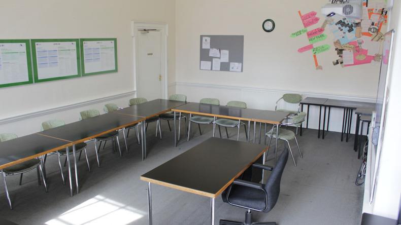 Twin School classroom