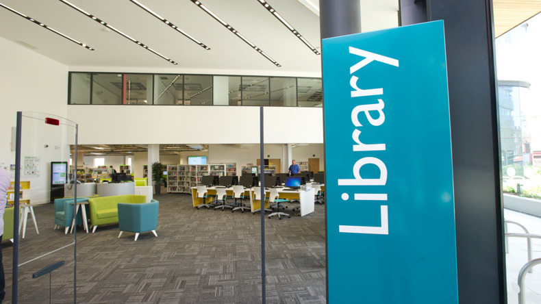 Library at Twin School London