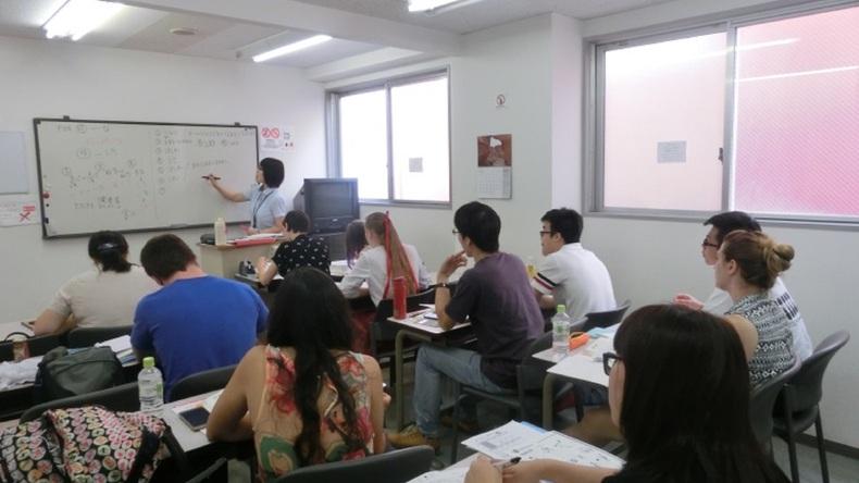 Japanese Language Institute of Sapporo 수업 모습