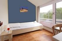Jednoosobowy pokój w Hotelu dla młodzieży, DID Deutsch-Institut, Frankfurt - 1
