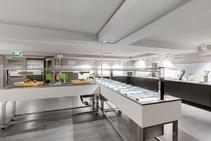 Jednoosobowy pokój w Hotelu dla młodzieży, DID Deutsch-Institut, Frankfurt