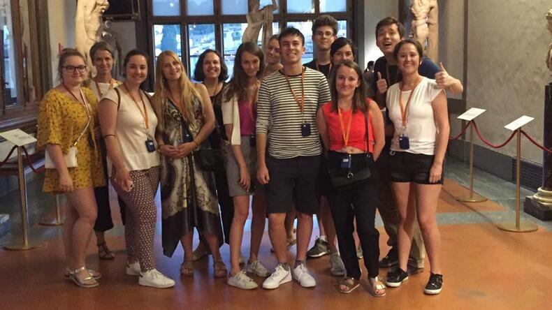 Wizyta w Galerii Uffizi