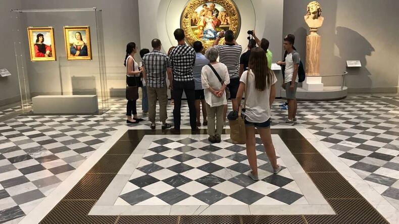 Studenci we Florencji