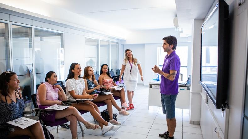 Lekcja w ACE English Malta