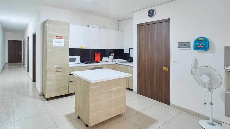 Wyposażenie kuchni w apartamencie