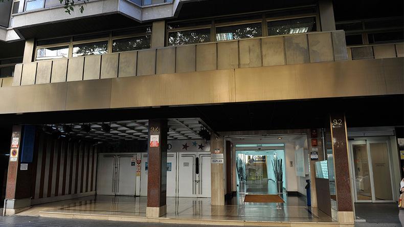 Główne wejście do Enforex Barcelona
