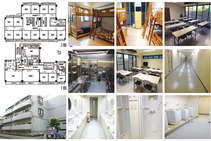 Dormitório Akabane, JCLI Japanese Language School, Tóquio - 1