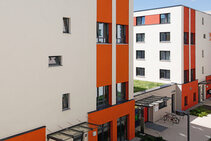 Студенческое общежитие, DID Deutsch-Institut, Франкфурт