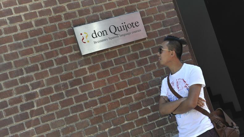 Студент в Don Quijote
