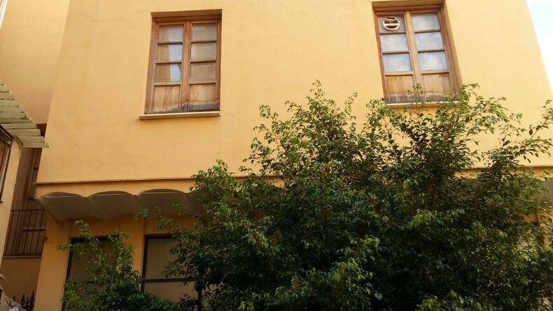 Школьный фасад