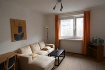 Exempelbild av bostadskategorin som Carl Duisberg Centrum anordnar. - 1