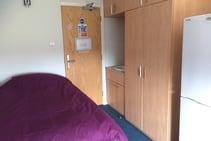 Student Residence Room, Central Language School, Cambridge