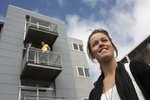 Exempelbild av bostadskategorin som Christchurch College of English anordnar. - 2