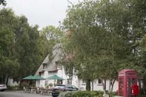 Exempelbild av bostadskategorin som ELH English Language House anordnar.