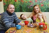 Exempelbild av bostadskategorin som Kiev Language School anordnar. - 2