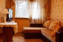 Exempelbild av bostadskategorin som Kiev Language School anordnar.