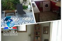 Exempelbild av bostadskategorin som Riviera French Institute anordnar.