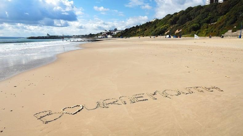 Vacker strand