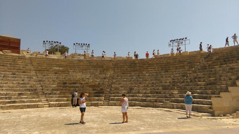 Kourion turistplats