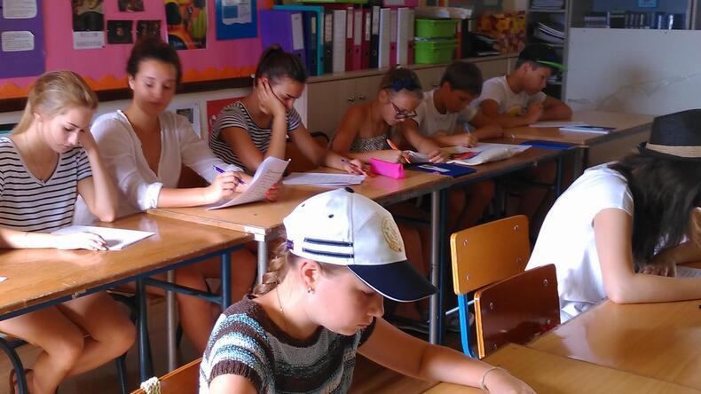 Studenter i klassen