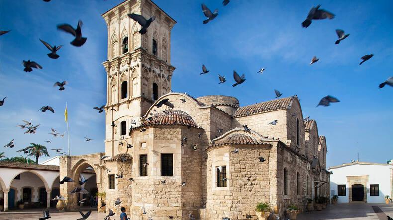 Byggnad i Larnaca