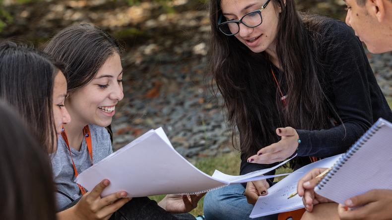 Studier utomhus