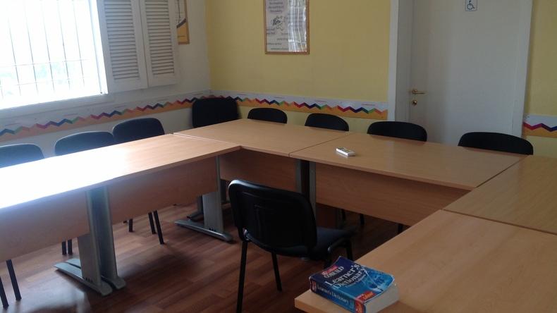Rymligt klassrum