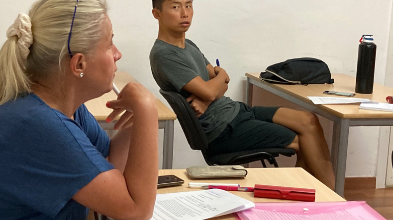 Studier på International House