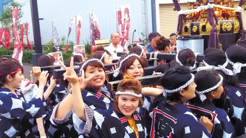 Studenter i Nagano