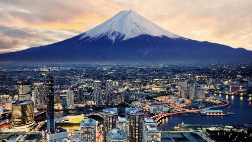 dátumové údaje miest v Tokiu