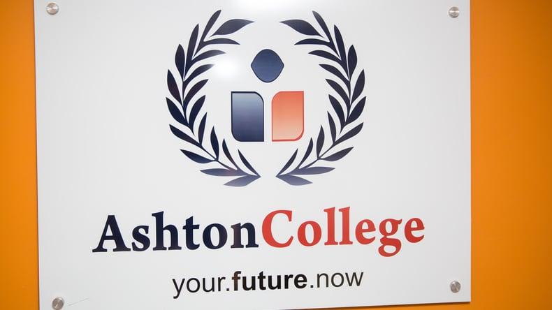 Ashton College teken