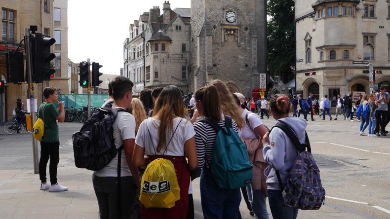 Studenten in Oxford
