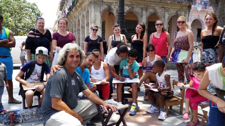 Vrijwilligerswerk bij Paseo del Prado