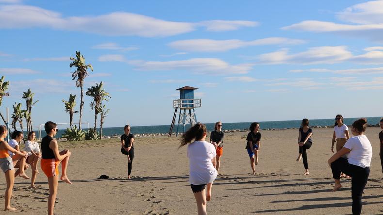 Sport onder de zon