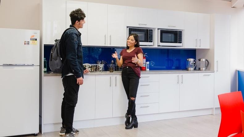 Keuken voor studenten