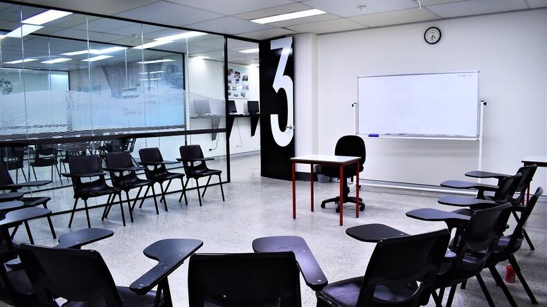 OHC Engels klaslokaal