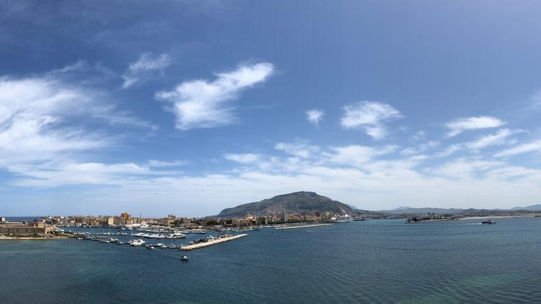 Uitzicht op de stad