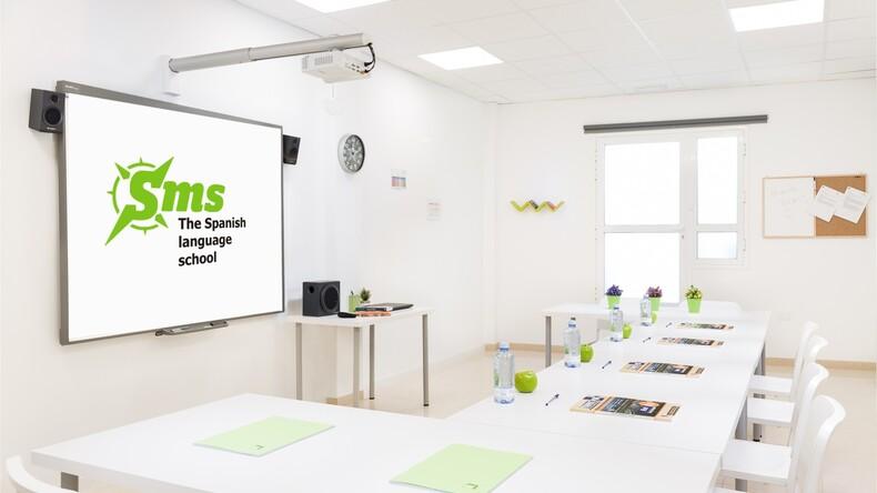 Modern klaslokaal