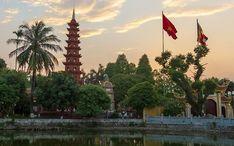 Principales destinos: Hanoi (miniatura de la ciudad)