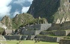 Principales destinos: Cuzco (miniatura de la ciudad)