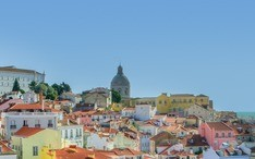 Самые популярные направления: Лиссабон (уменьшенное изображение города)
