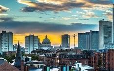 Legnépszerűbb célállomások: Boston (A város kicsinyített nézete)
