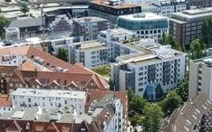 Principales destinos: Hamburgo (miniatura de la ciudad)