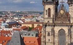 Самые популярные направления: Прага (уменьшенное изображение города)
