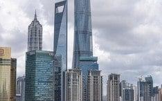 Principales destinos: Shangai (miniatura de la ciudad)