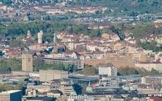 Naj destinácie: Stuttgart (miniatúra mesta)