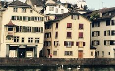 Legnépszerűbb célállomások: Zürich (A város kicsinyített nézete)
