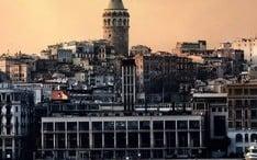 Principales destinos: Estambul (miniatura de la ciudad)